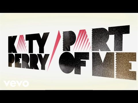 "Katy Perry - Part Of Me (Lyric Video), Official lyric video for Katy Perry's ""Part of Me"" debuted at the 2012 GRAMMY Awards and available on her upcoming March 26, 2012 album 'Teenage Dream: The C..."