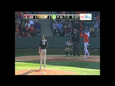 South Carolina vs Clemson Baseball 3/01/2014 Game #2