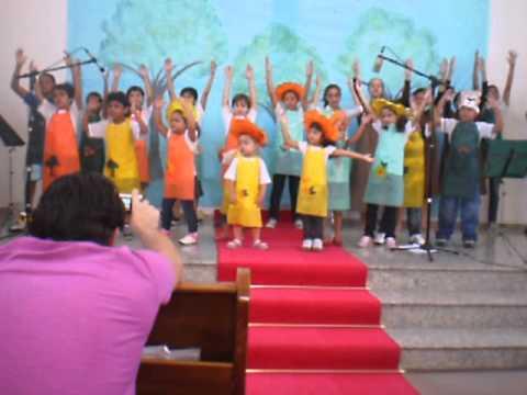 Cantata de Páscoa Infantil