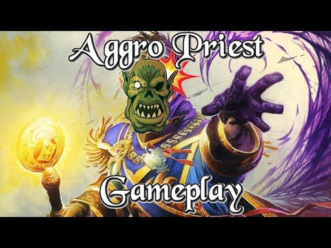 Gameplay: Wortaxx's Aggro Priest Kobolds And Catacombs (Hearthstone Guide How to Play)