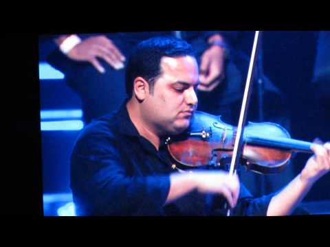 Ehsan Khaje Amiri performing his dad's song (Iraj) Live @ Nokia Theater in LA 2014