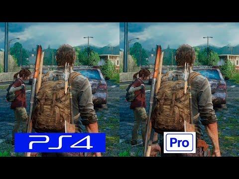 The Last of Us   PS4 VS PS4 PRO   GRAPHICS COMPARISON   Comparativa