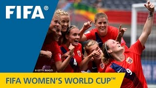 HIGHLIGHTS: Norway v Thailand - FIFA Women's World Cup 2015