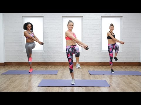5-Minute Standing Flat-Belly Workout | Class FitSugar