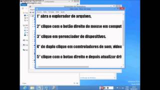 Como Instalar O Driver De Aúdio No Windows 8 (FUNCIONA
