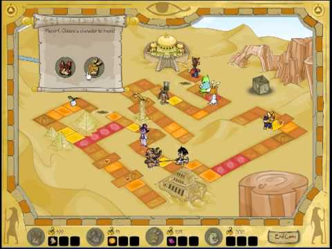 Farming Games Series 10: The Great Desert Race - By Bartdrunkeys, Gameplay shows how to farm. Towards the end you just need to land on the sandstorm just before the finish and land on tug-o-war tile, so you aculate 100 p...
