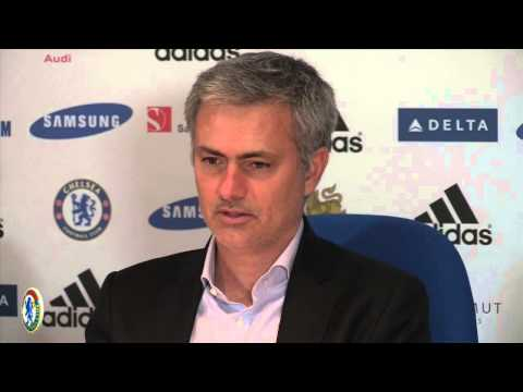 Jose Mourinho on Samuel Eto'o  goal celebration