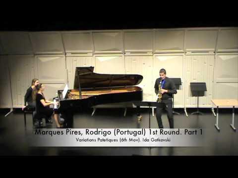Marques Pires, Rodrigo (Portugal) 1st Round. Part 1