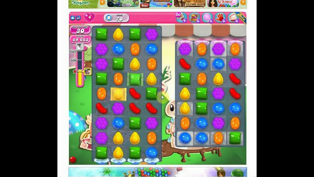 How To Solve Level 70 Candy Crush