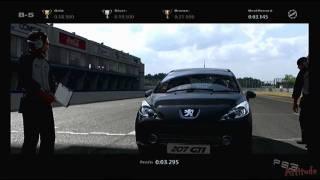 Gran Turismo 5 National License Test B-5 Glitch (3 Second