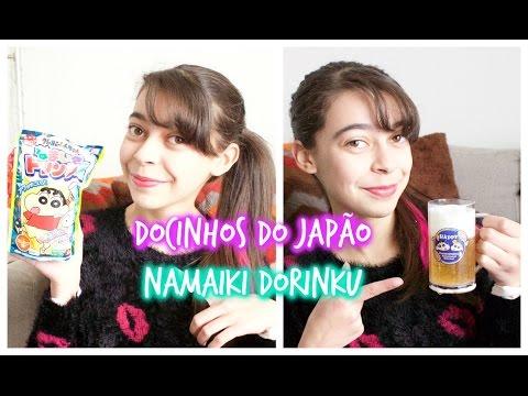 Docinhos do Japão: Namaiki Dorinku