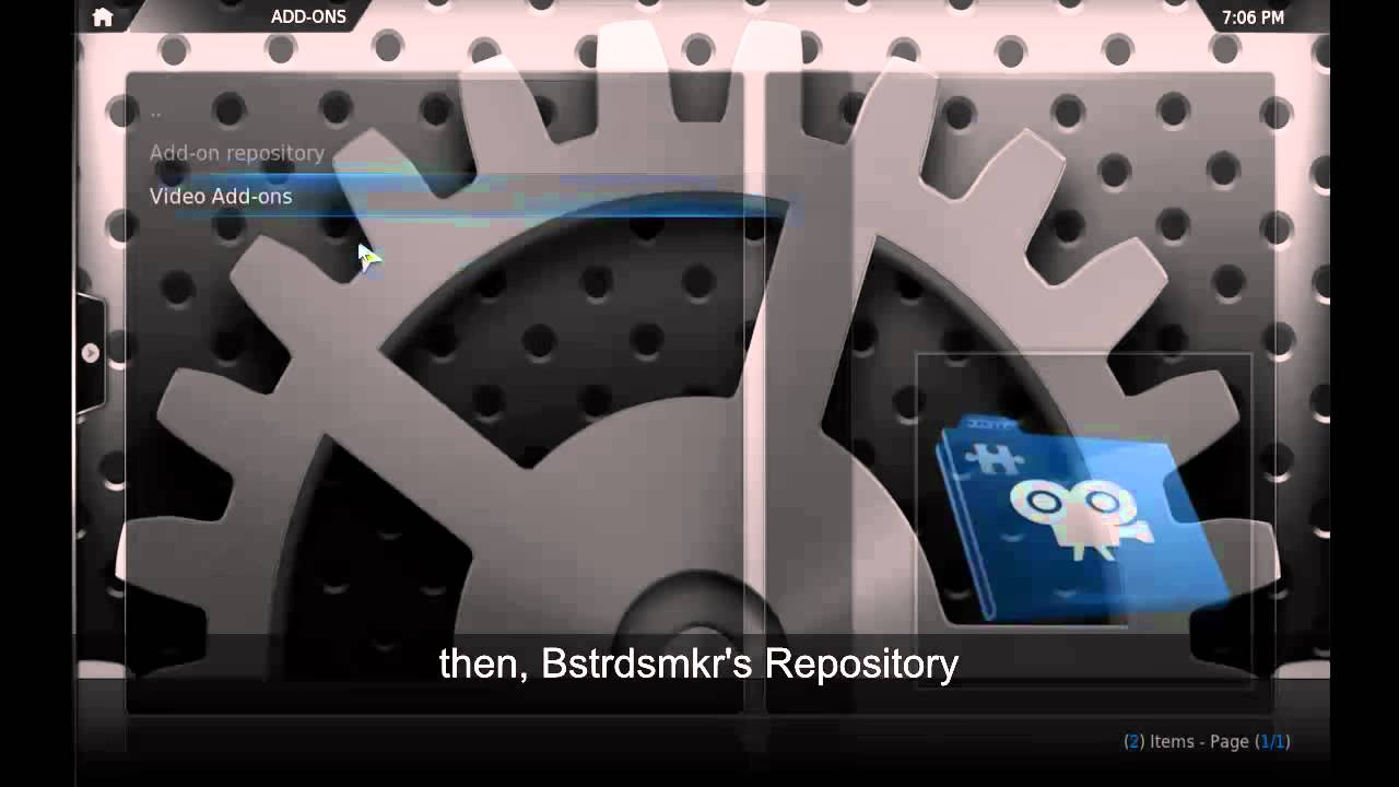 How To Install 1channel On Raspbmc
