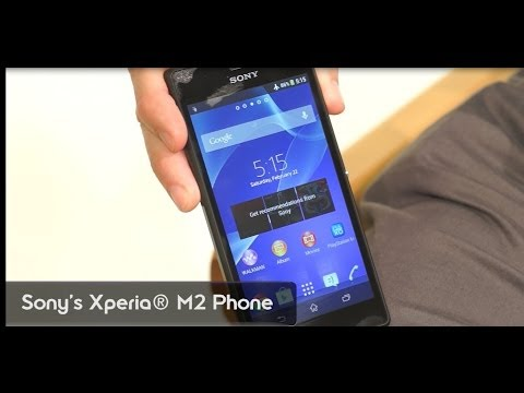 Announcement: New Xperia M2 Phone by Sony