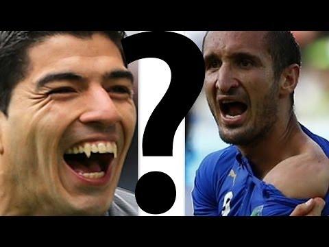 |Worldcup2014| Luis Suarez's controversial bite against Giorgio Chiellini ? |FIFA'S DECISION OUT|