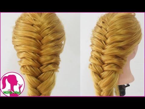 Hairstyles - Hướng Dẫn Cách Tết Tóc Đuôi Tôm Cực Đẹp : Hairstyles for long hair tutorial