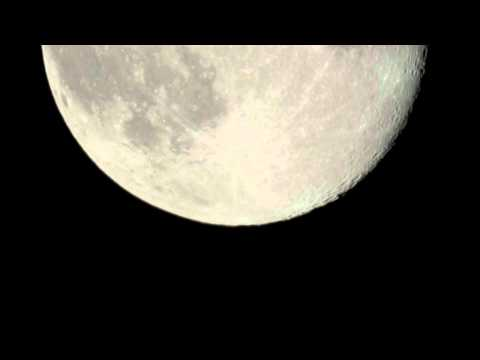 Moon Time Lapse (Nikon D300s hooked up to Celestron C8 Telescope)