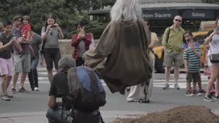 If The Crazy Homeless Man Levitates Will People Listen to Him Finally?