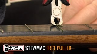 Watch the Trade Secrets Video, Using the Fret Puller on an Old Classical