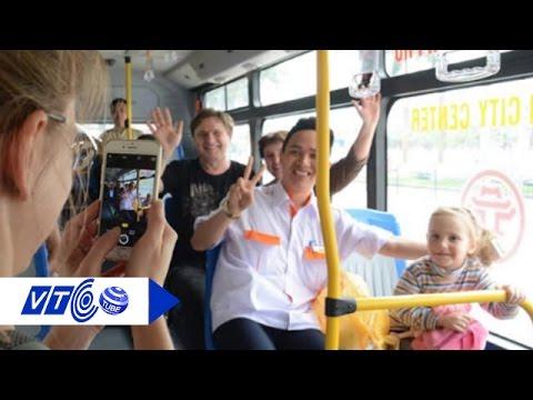 Lướt web, xem phim online miễn phí trên xe buýt | VTC