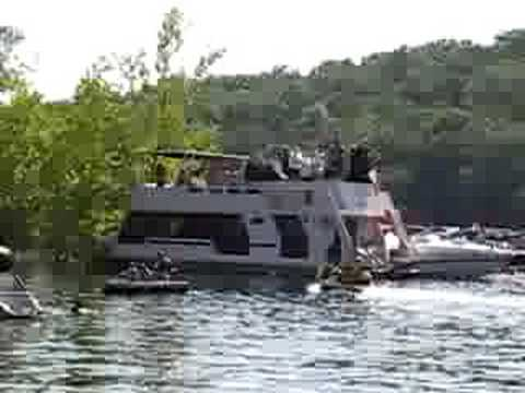 Table Rock Lake July 4th Quot Party Cove Quot Part 1 Youtube