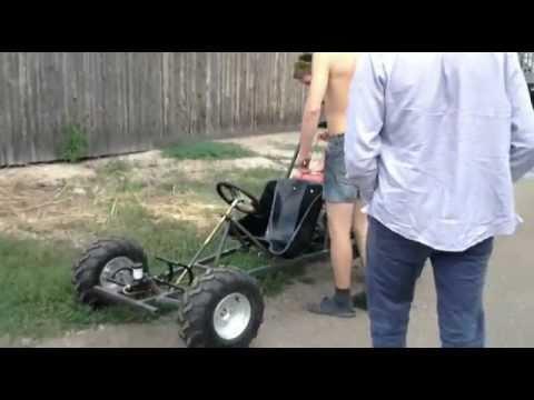 Самодельный картинг (home-made go kart)
