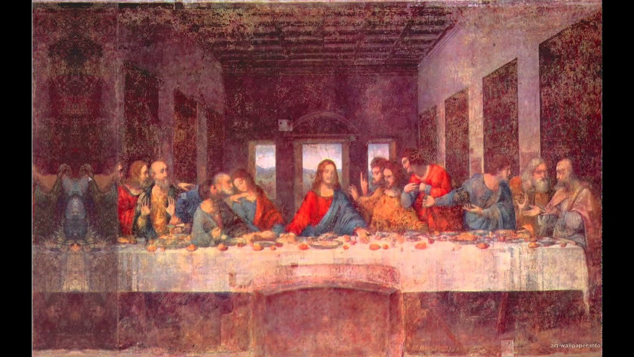 Leonardo da Vinci - The last Supper (secrets revealed ... Da Vinci Paintings Secrets