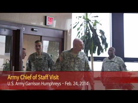 IN FOCUS - Army Chief Of Staff Visit - U.S. Army Garrison Humpreys, South Korea - 24 Feb. 2014