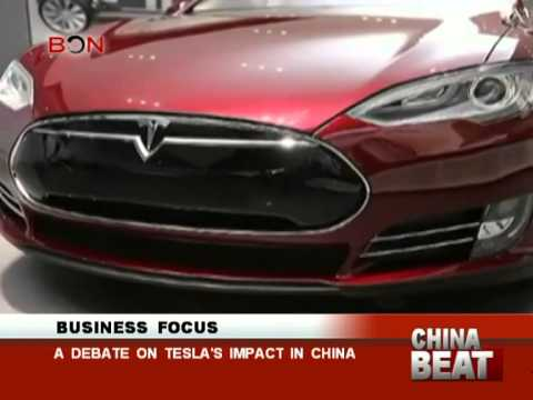 A debate on Tesla's impact in china - China Beat - Feb 24 ,2014 - BONTV China