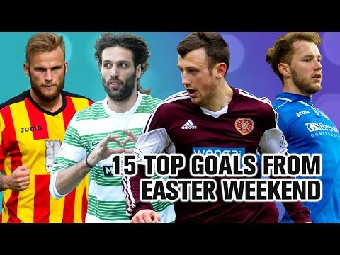 Every goal from Easter weekend in Scotland!