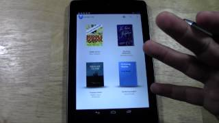 Nexus 7: How To Download Books