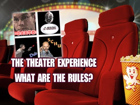 Film Geek Primer Live #7 - The Movie Theater Experience