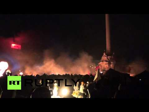 Ukraine: Explosive clashes grip Kiev