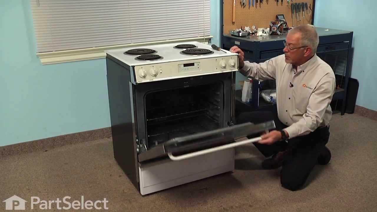 Range Stove Oven Repair Replacing The Oven Sensor Ge