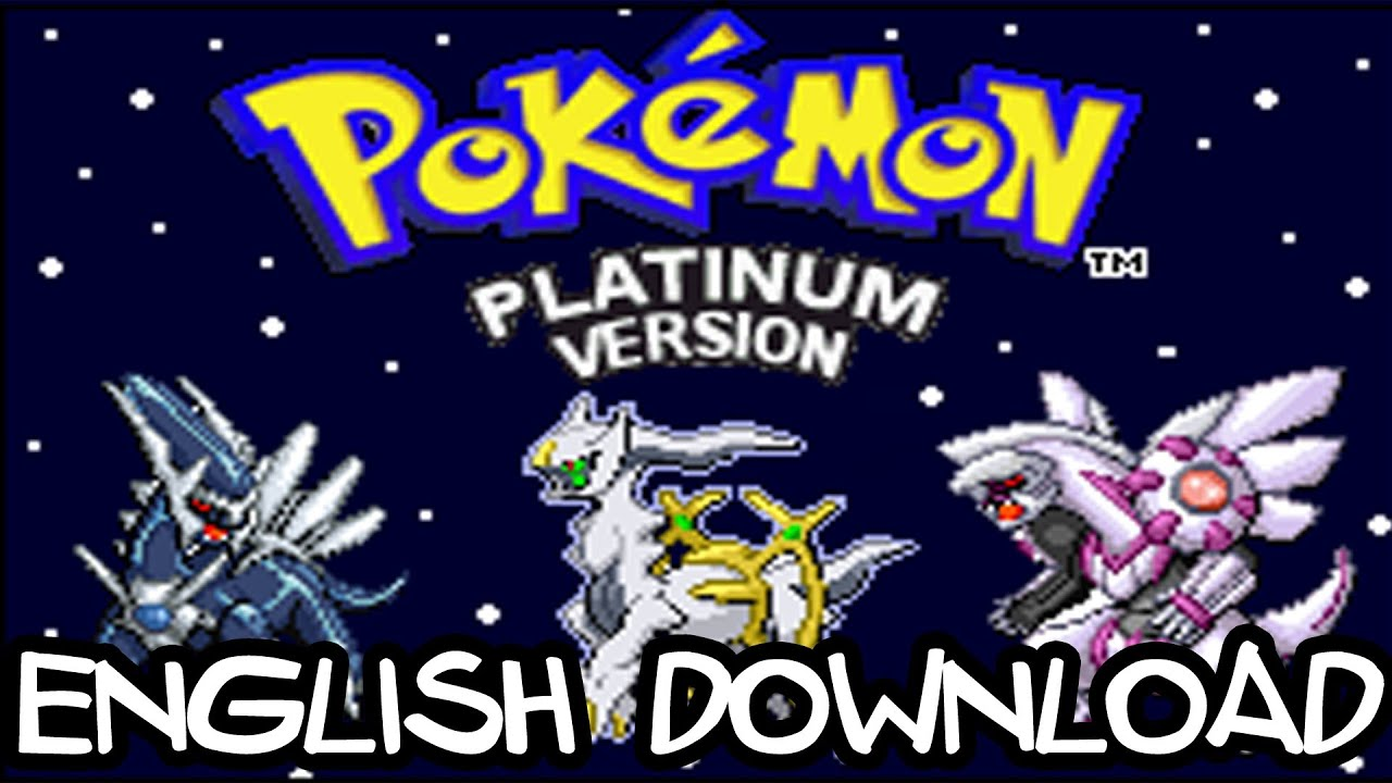 pokemon platinum rom gba download