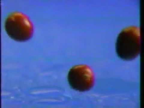 Ocean Spray Cran-Raspberry Juice ad from 1986