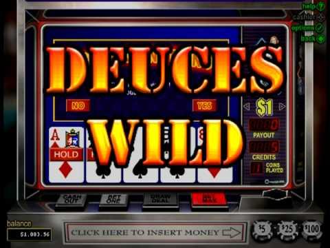 Free deuces wild poker slots