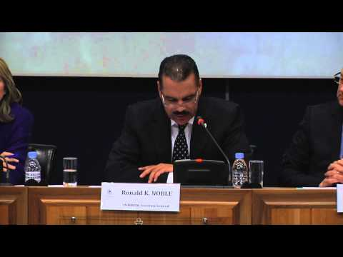 INTERPOL press conference on missing Malaysian Airlines flight MH 370,11 March 2013