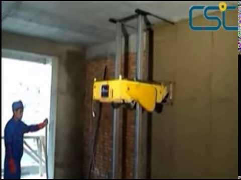 Wall rendering machine - Máquina de enjarrado/enfoscado para paredes - ماكينة التلييس