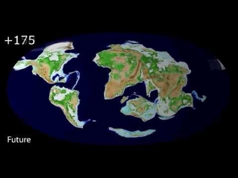 Vídeo mostra como será a Terra em 250 milhões de anos