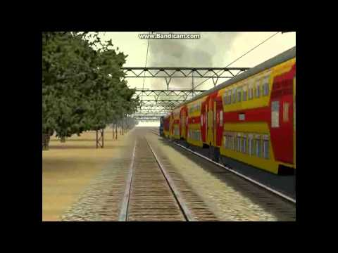 INDIAN RAILWAY TRAIN SIMULATOR TRAILER
