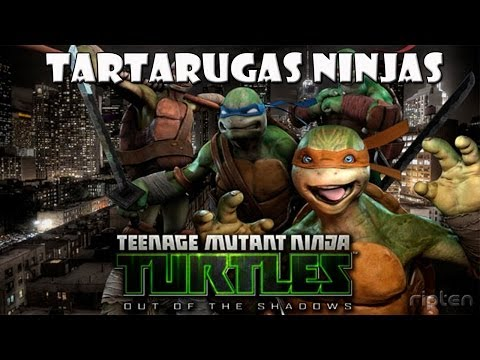 Tartarugas Ninja - Out Of The Shadows - Testando a Demo