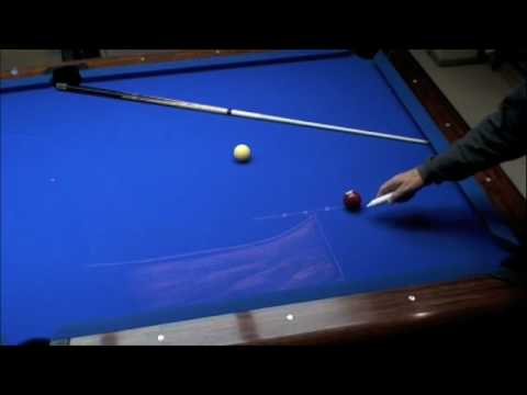 Billiards: Cue Ball Control -part 1