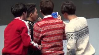 [EngSub] 141126 위너 멘트 + 셀카 With 팬들 삼성