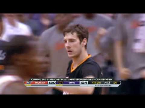 Oklahoma City Thunder vs Phoenix Suns | Full Game Highlights | March 06, 2014 | NBA 2013-2014 Season