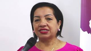 Maria de Lourdes disse que o Lidera+ ensinou a dialogar com eleitor