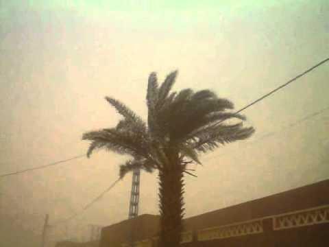 In salah tempête de sable 29 03 2012