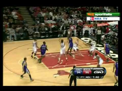Tyreke Evans Complete Highlights vs Bulls 21-12-09 [23 Points]