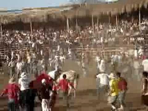 Fiesta de toros en Liberia Guanacaste, CR