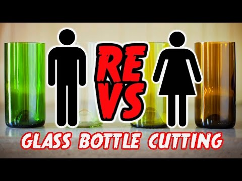 DIY Glass Bottle Cutting - ReVS:Corinne Episode #2