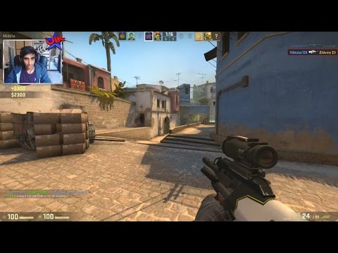 CS:GO Competitive #12 with Vikkstar (Counter Strike Global Offensive Gameplay)